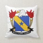 Escudo de la familia de Scottowe Cojines