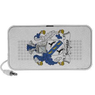 Escudo de la familia de Scruggs iPod Altavoz