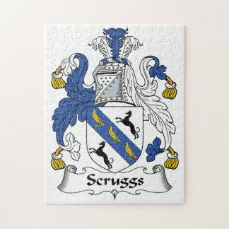 Escudo de la familia de Scruggs Rompecabeza