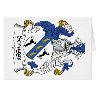 Escudo de la familia de Scruggs Felicitacion