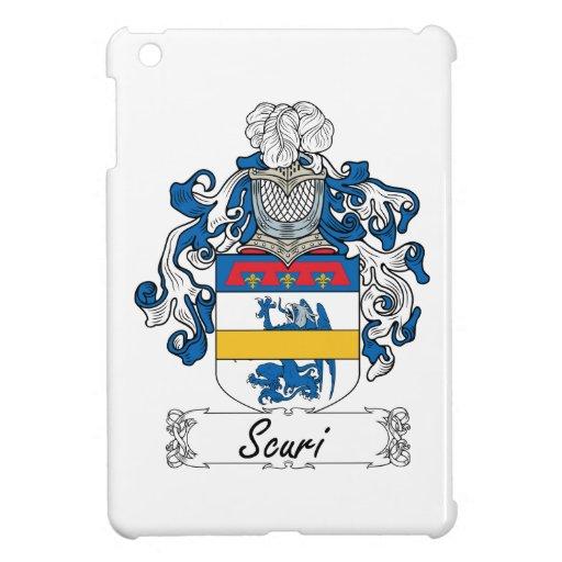Escudo de la familia de Scuri iPad Mini Carcasa