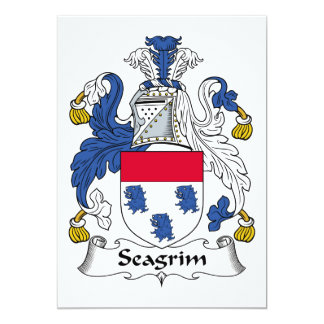 Escudo de la familia de Seagrim Anuncio Personalizado