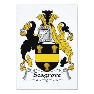 Escudo de la familia de Seagrove Comunicados Personales