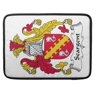 Escudo de la familia de Seargent Fundas Macbook Pro