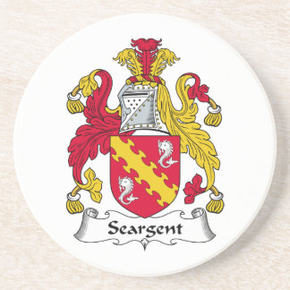Escudo de la familia de Seargent Posavasos Manualidades