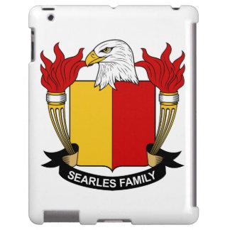 Escudo de la familia de Searles Funda Para iPad