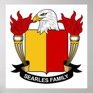 Escudo de la familia de Searles Impresiones
