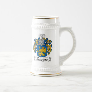 Escudo de la familia de Sebastiani Jarra De Cerveza