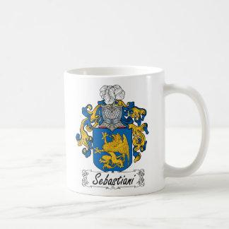 Escudo de la familia de Sebastiani Taza Clásica