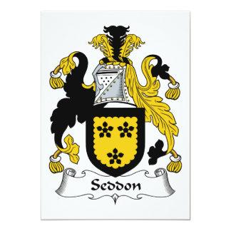Escudo de la familia de Seddon Anuncio Personalizado