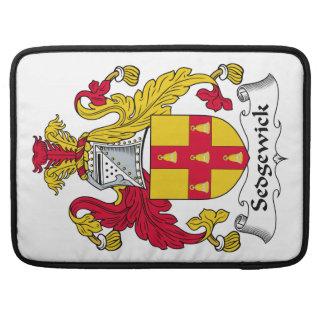 Escudo de la familia de Sedgewick Funda Macbook Pro