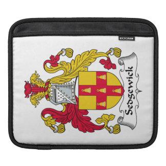 Escudo de la familia de Sedgewick Mangas De iPad