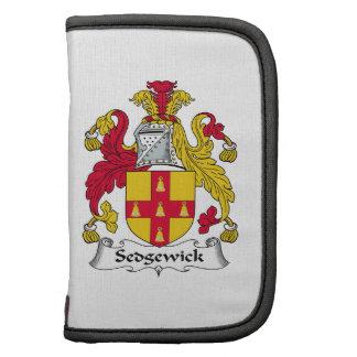 Escudo de la familia de Sedgewick Planificadores