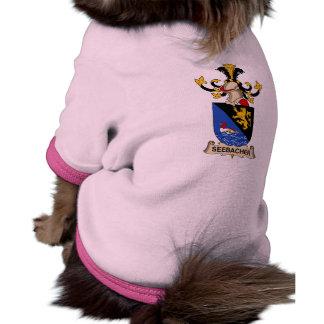 Escudo de la familia de Seebacher Camisetas De Perrito