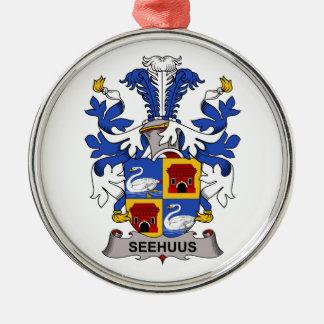 Escudo de la familia de Seehuus Ornamento De Reyes Magos