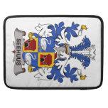 Escudo de la familia de Seehuus Fundas Macbook Pro