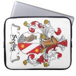 Escudo de la familia de Seelig Funda Portátil