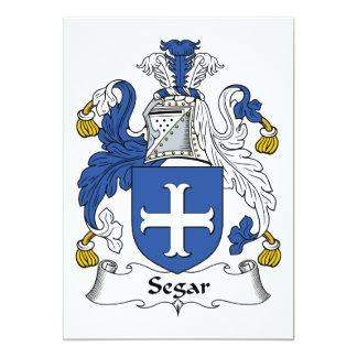 Escudo de la familia de Segar Invitaciones Personalizada