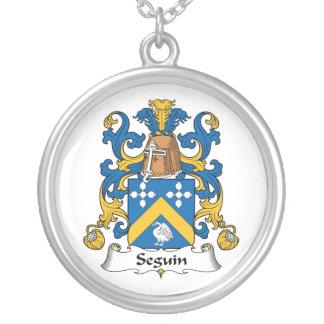 Escudo de la familia de Seguin Pendiente
