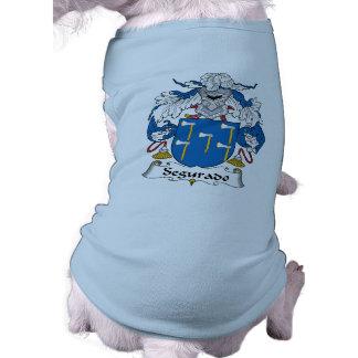 Escudo de la familia de Segurado Ropa De Perros