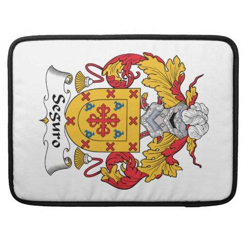 Escudo de la familia de Seguro Funda Para Macbook Pro