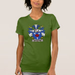 Escudo de la familia de Sehested Camisetas