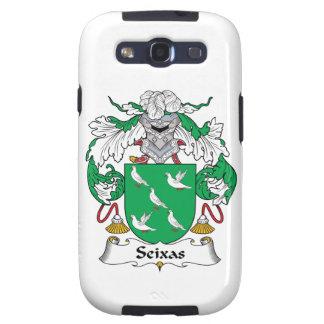 Escudo de la familia de Seixas Samsung Galaxy S3 Carcasa