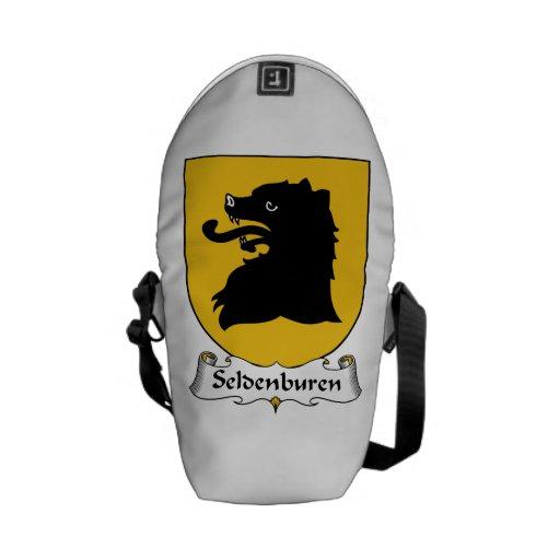 Escudo de la familia de Seldenburen Bolsas Messenger