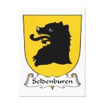 Escudo de la familia de Seldenburen Impresion De Lienzo