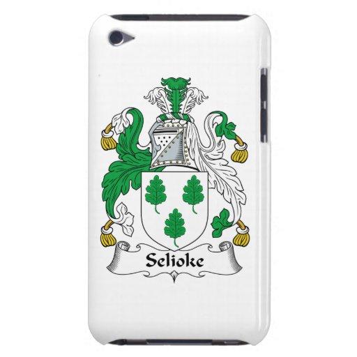 Escudo de la familia de Selioke iPod Case-Mate Funda
