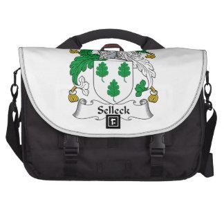 Escudo de la familia de Selleck Bolsa Para Ordenador
