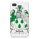 Escudo de la familia de Selleck iPhone 4 Coberturas