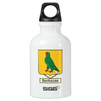 Escudo de la familia de Senhouse Botella De Agua