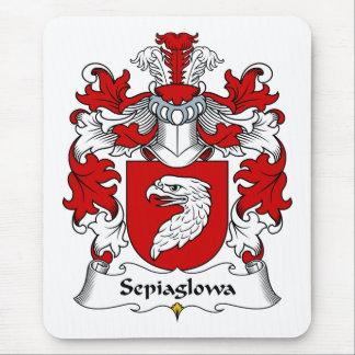 Escudo de la familia de Sepiaglowa Alfombrilla De Raton