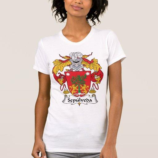 Escudo de la familia de Sepulveda Tee Shirt