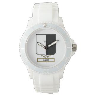 Escudo de la familia de Serle Reloj