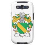 Escudo de la familia de Serna Galaxy S3 Cárcasa