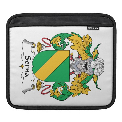 Escudo de la familia de Serna Mangas De iPad