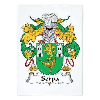 Escudo de la familia de Serpa Invitaciones Personales
