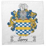 Escudo de la familia de Serra Servilleta De Papel
