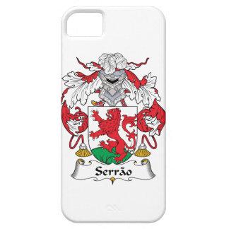Escudo de la familia de Serrao iPhone 5 Case-Mate Cobertura