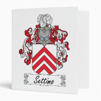 Escudo de la familia de Settimo