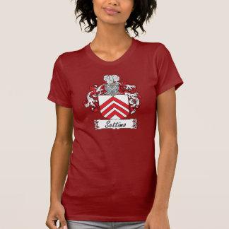 Escudo de la familia de Settimo Camiseta