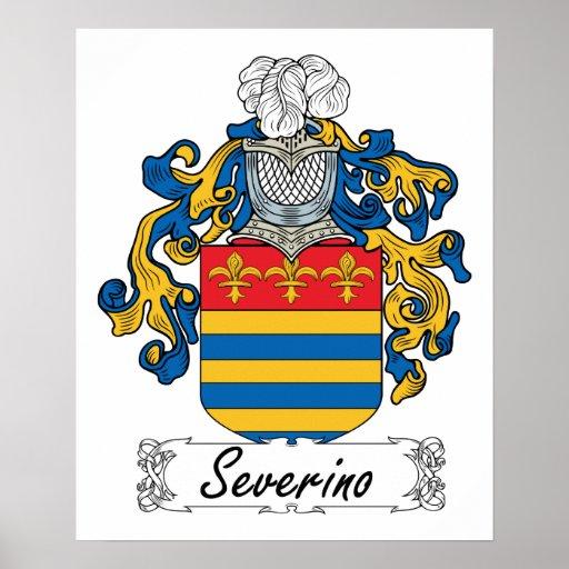 Escudo de la familia de Severino Posters