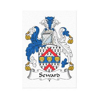 Escudo de la familia de Seward Lona Estirada Galerias