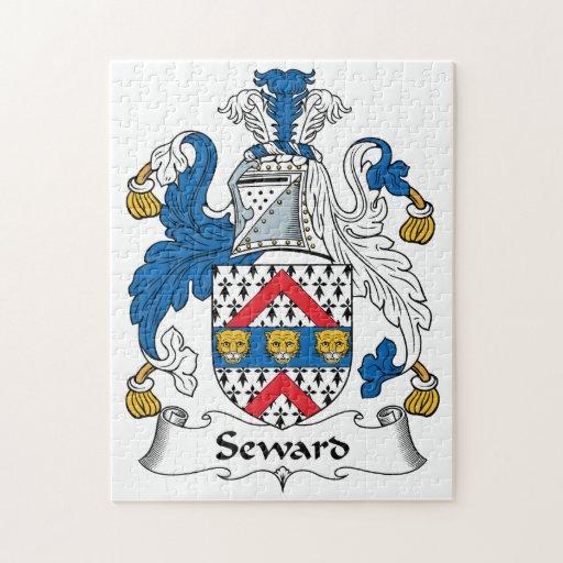 Escudo de la familia de Seward Puzzle Con Fotos
