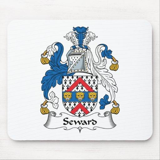 Escudo de la familia de Seward Tapete De Ratón