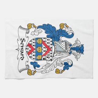 Escudo de la familia de Seward Toalla De Mano