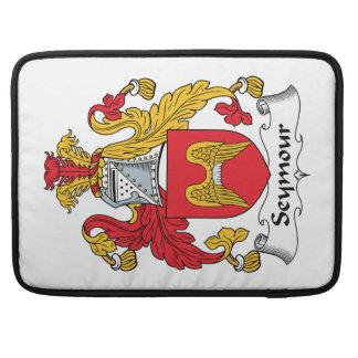 Escudo de la familia de Seymour Funda Para Macbook Pro