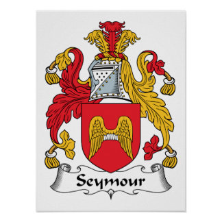 Escudo de la familia de Seymour Póster